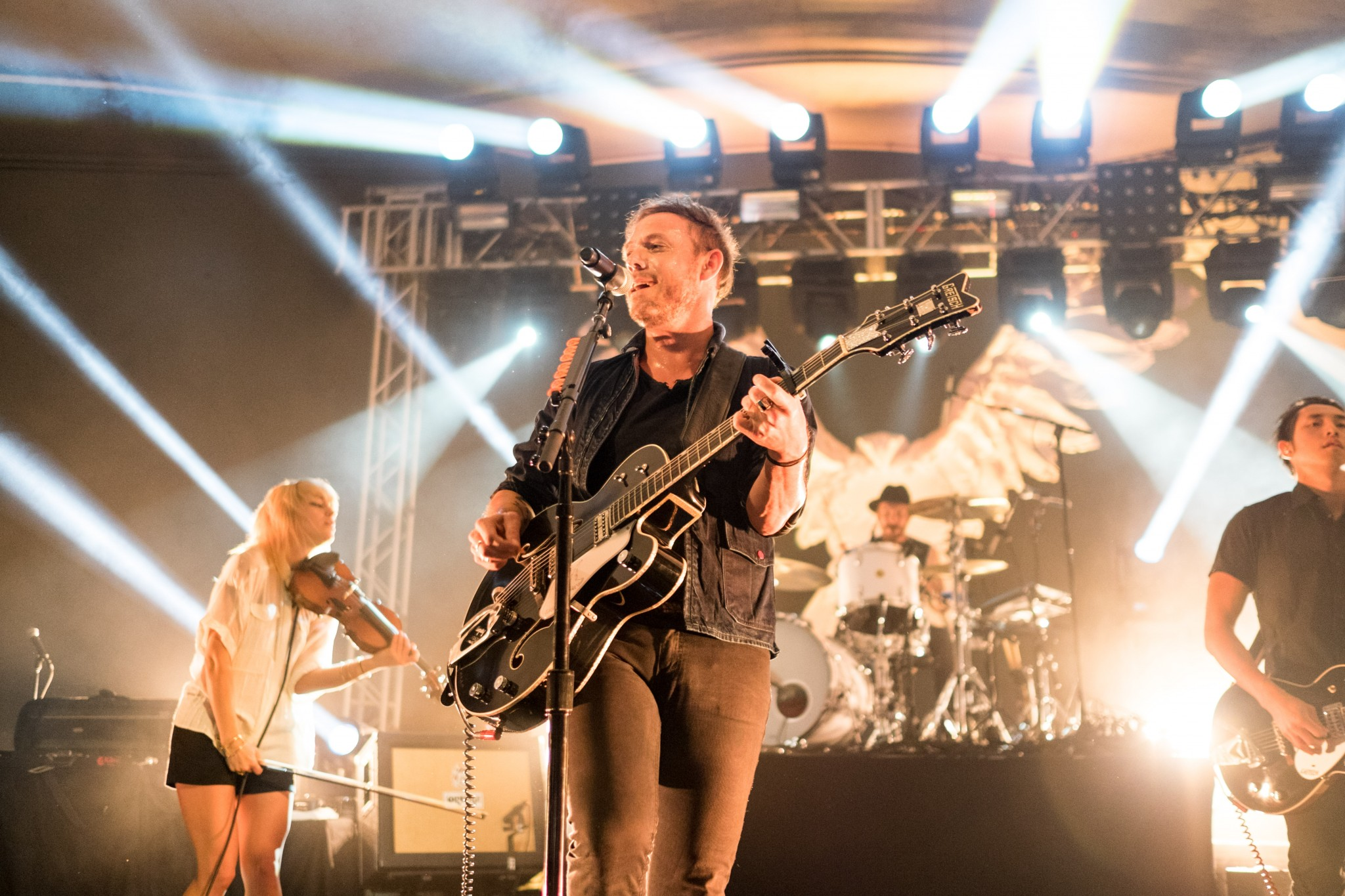 The Airborne Toxic Event at Stubbs in Austin 2014