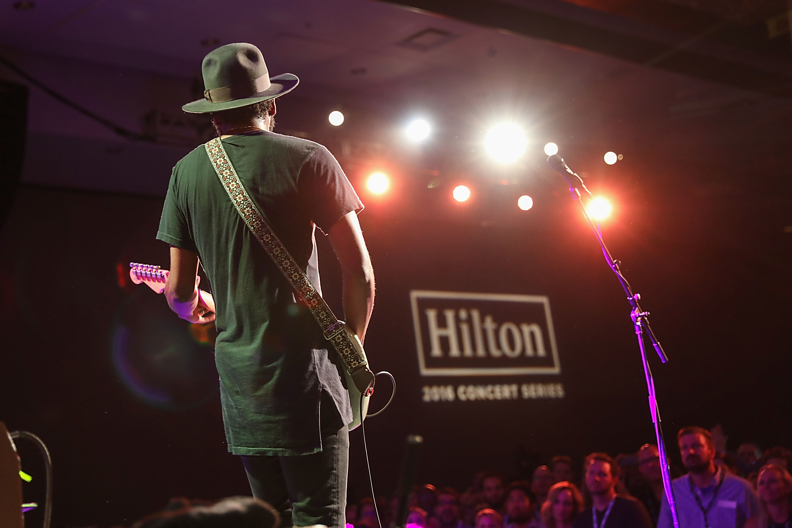 Gary Clark Jr. Closes Out A Successful 2016 Hilton Concert Series With A Private Show For Hilton HHonors Members And Fans In Austin